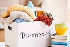Donations are always needed, but at the right time.